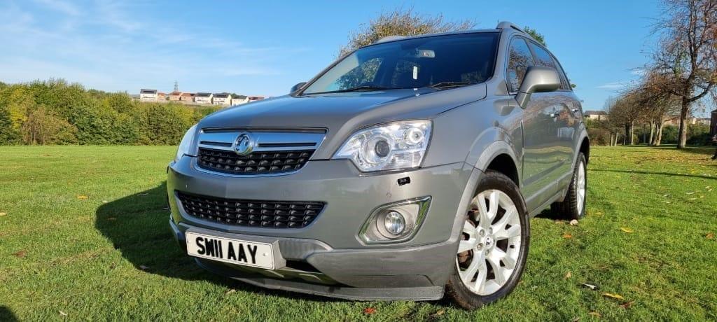used Vauxhall Antara SE CDTI in fife