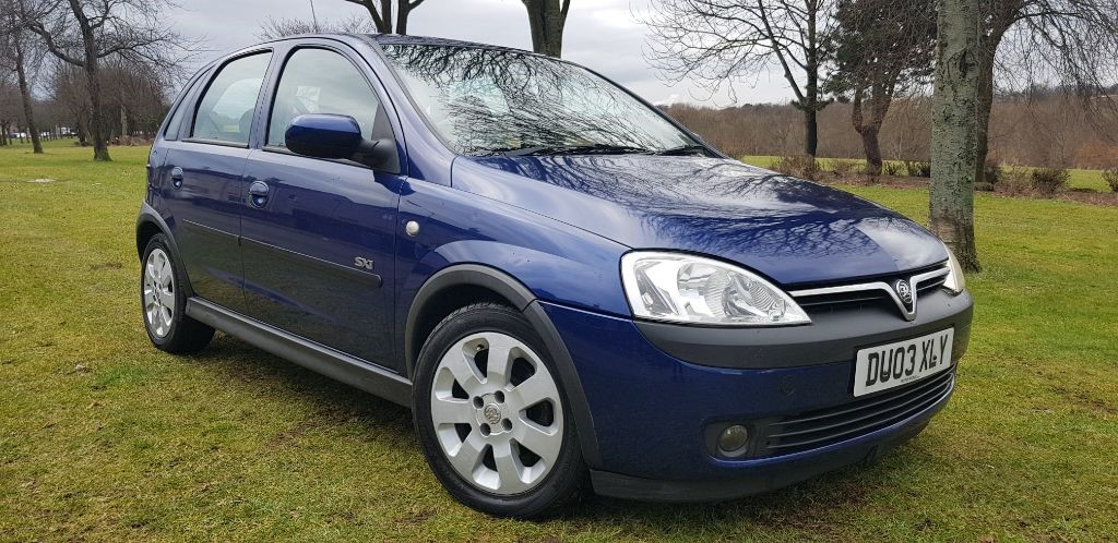 used Vauxhall Corsa SXI DTI in fife