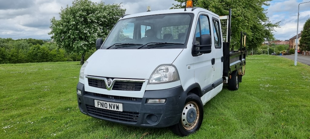 used Vauxhall Movano 3500 LWB DCC 100 CDTI in fife