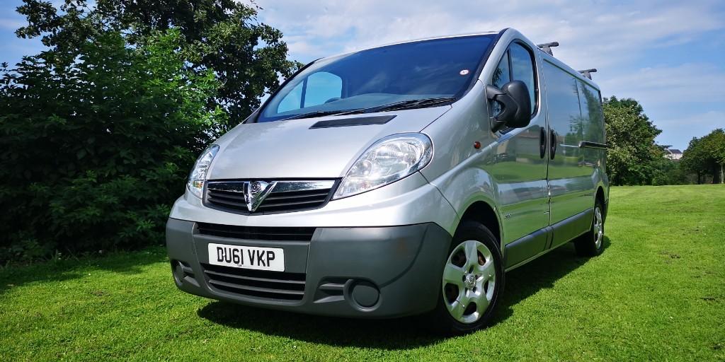 used Vauxhall Vivaro 2900 CDTI P/V in fife