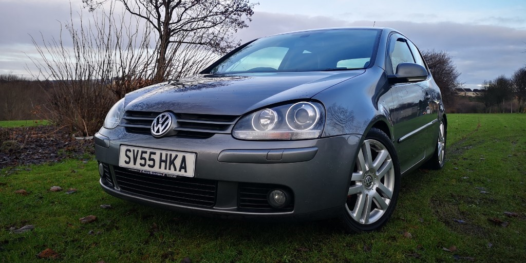 used VW Golf GT TDI 4MOTION in fife
