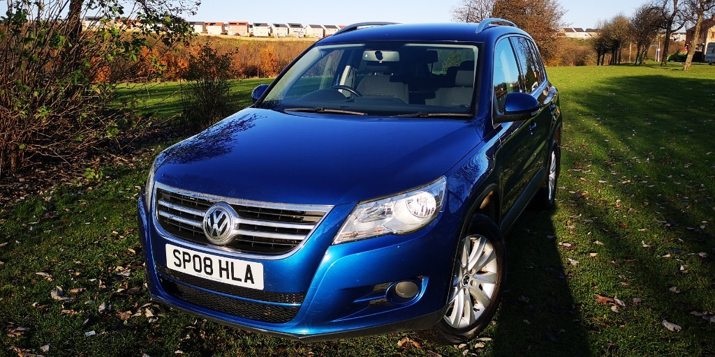 used VW Tiguan SE TDI in fife