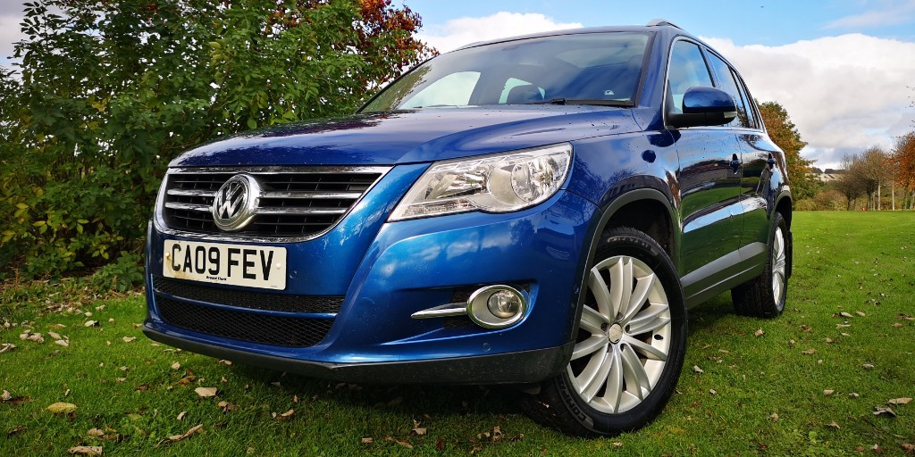 used VW Tiguan SPORT TDI in fife