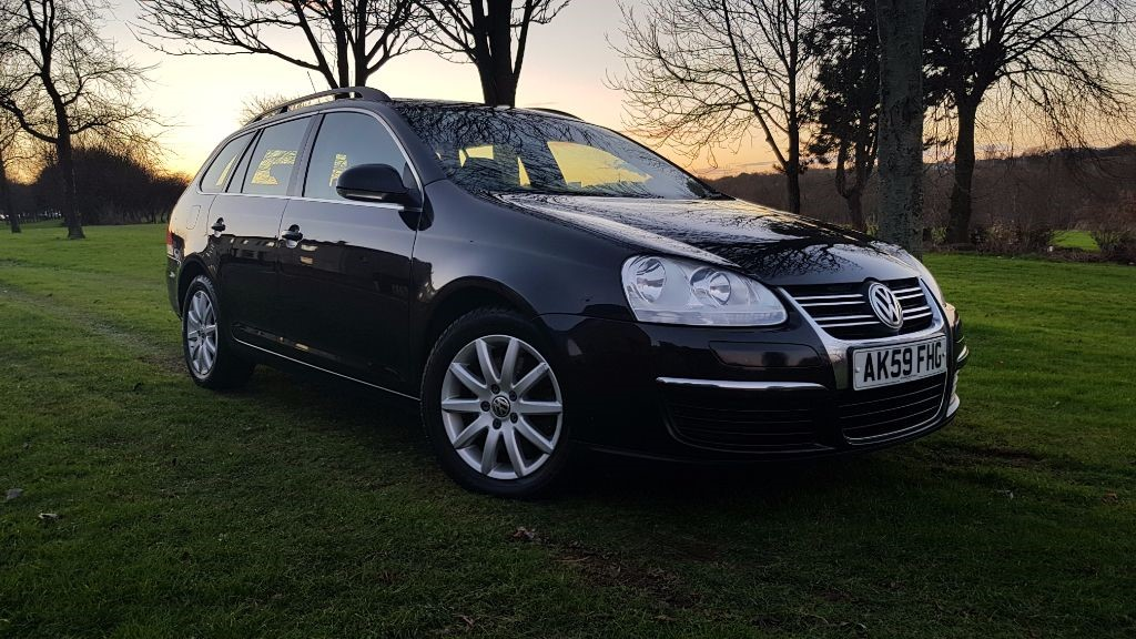 used VW Golf SE TDI in fife