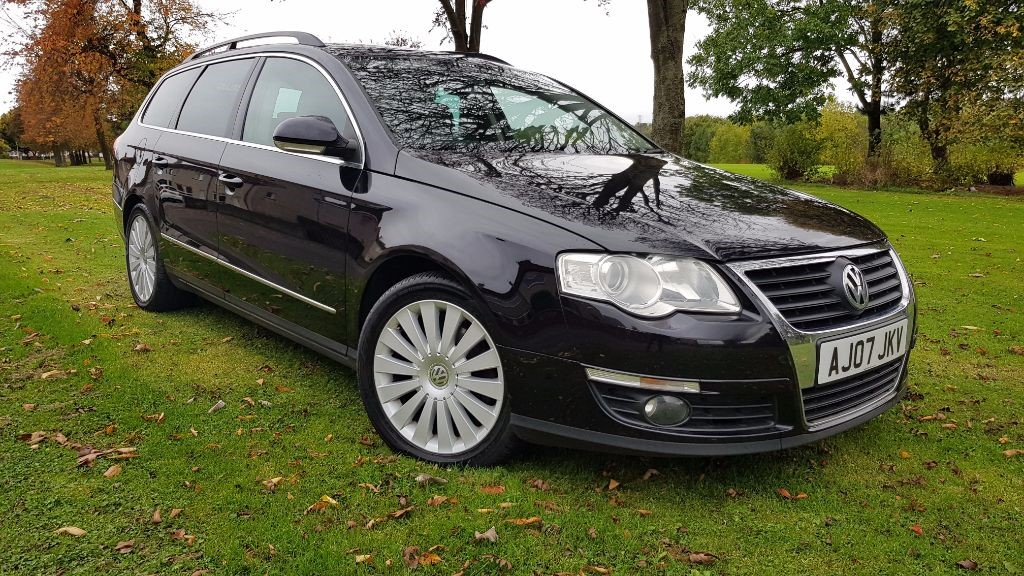 used VW Passat TDI SPORT DSG in fife