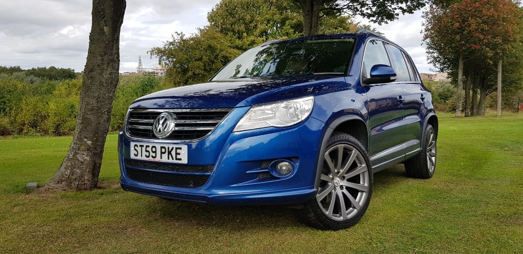 used VW Tiguan R LINE TDI 4MOTION in fife