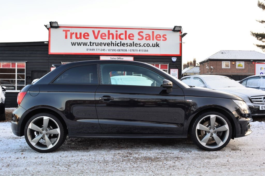 used Audi A1 TDI S LINE BLACK EDITION in Suffolk
