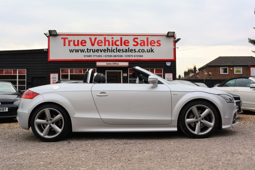 used Audi TT TDI QUATTRO S LINE in Suffolk