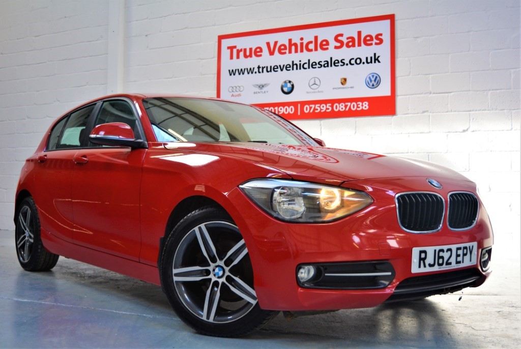 used BMW 118d SPORT in Suffolk