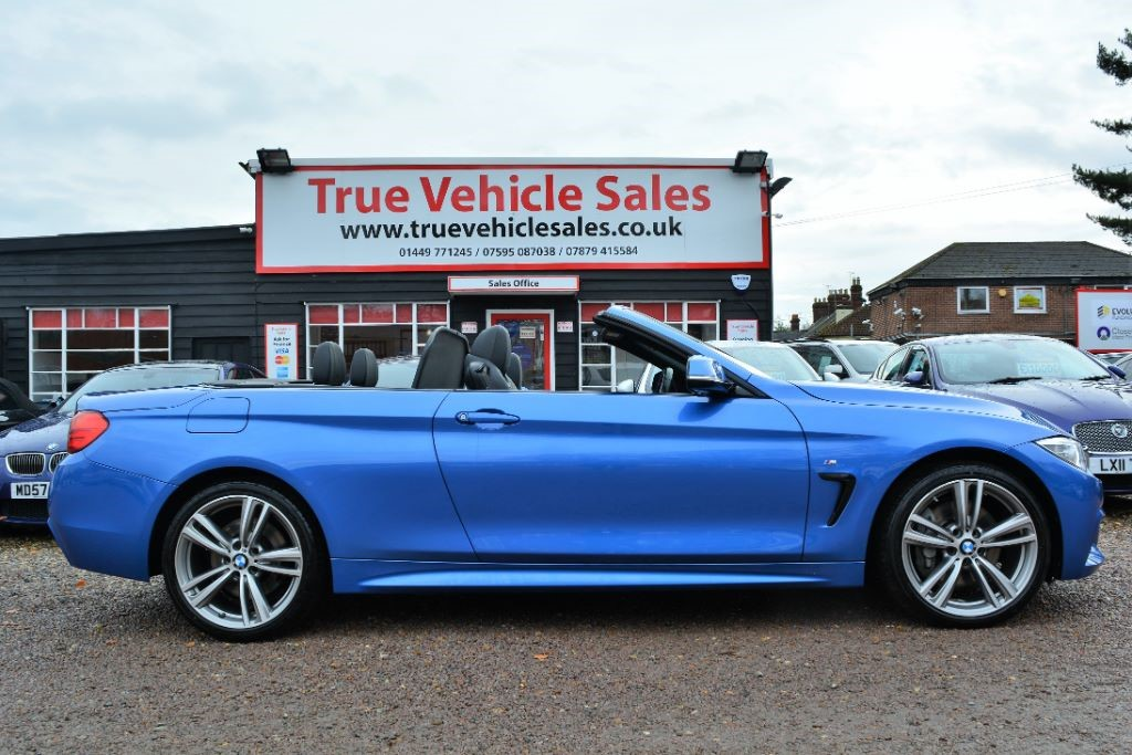 used BMW 435d XDRIVE M SPORT in Suffolk