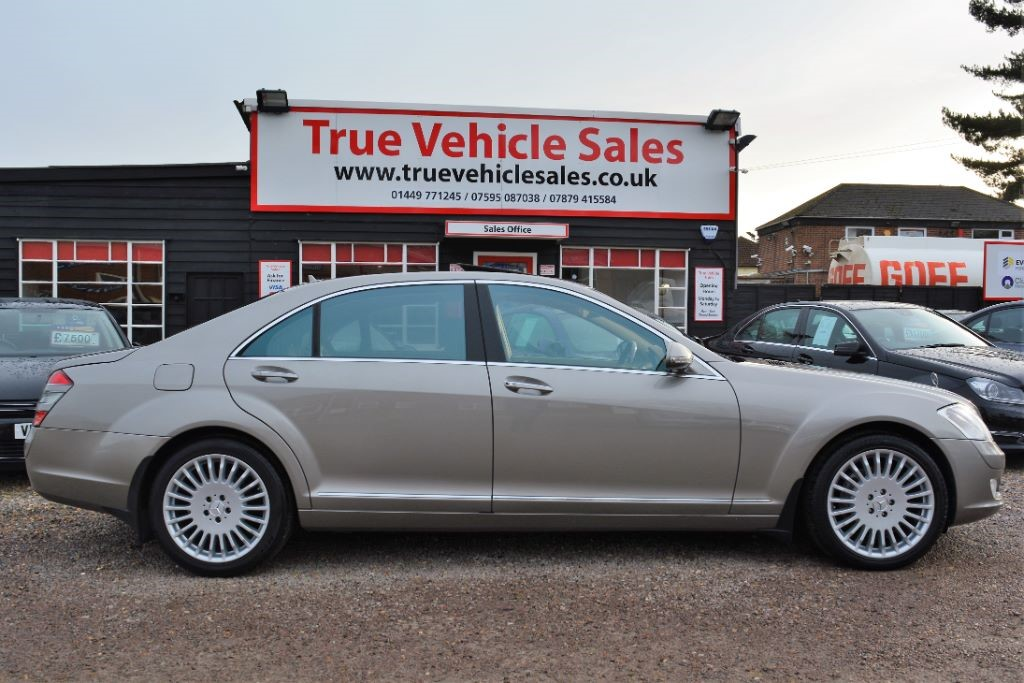 used Mercedes S320 L CDI in Suffolk