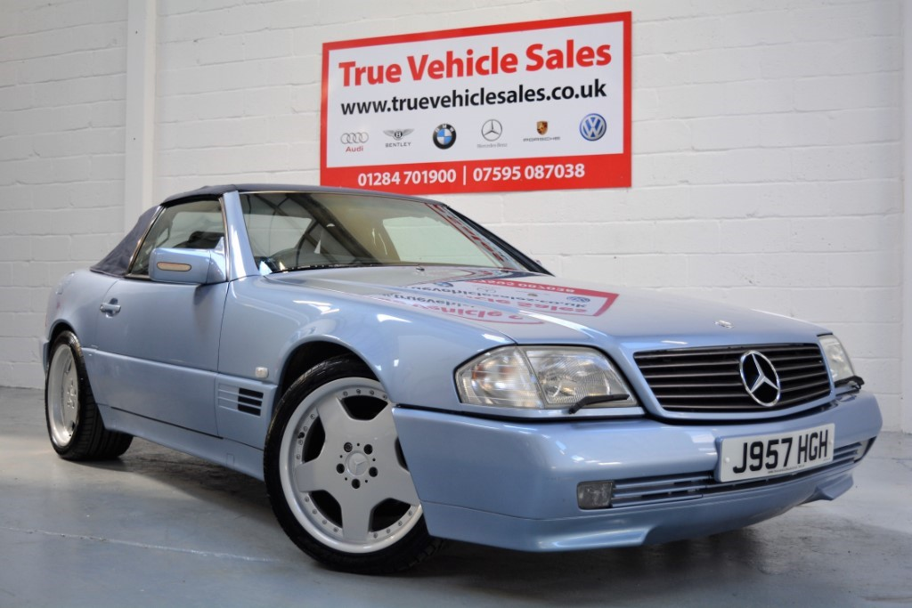 used Mercedes SL500 AUTO in Suffolk
