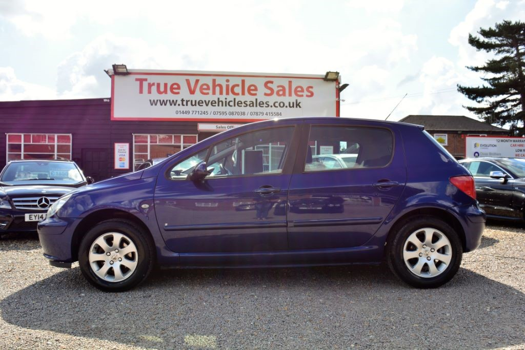 used blue peugeot 307 for sale | suffolk