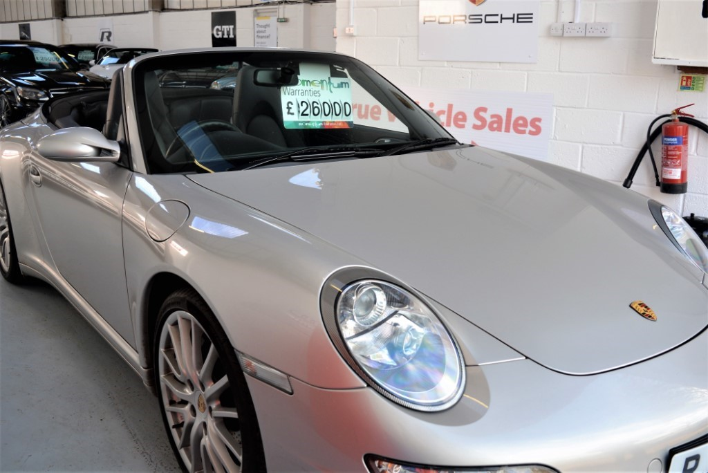 used Porsche 911 CARRERA 4 TIPTRONIC S in Suffolk