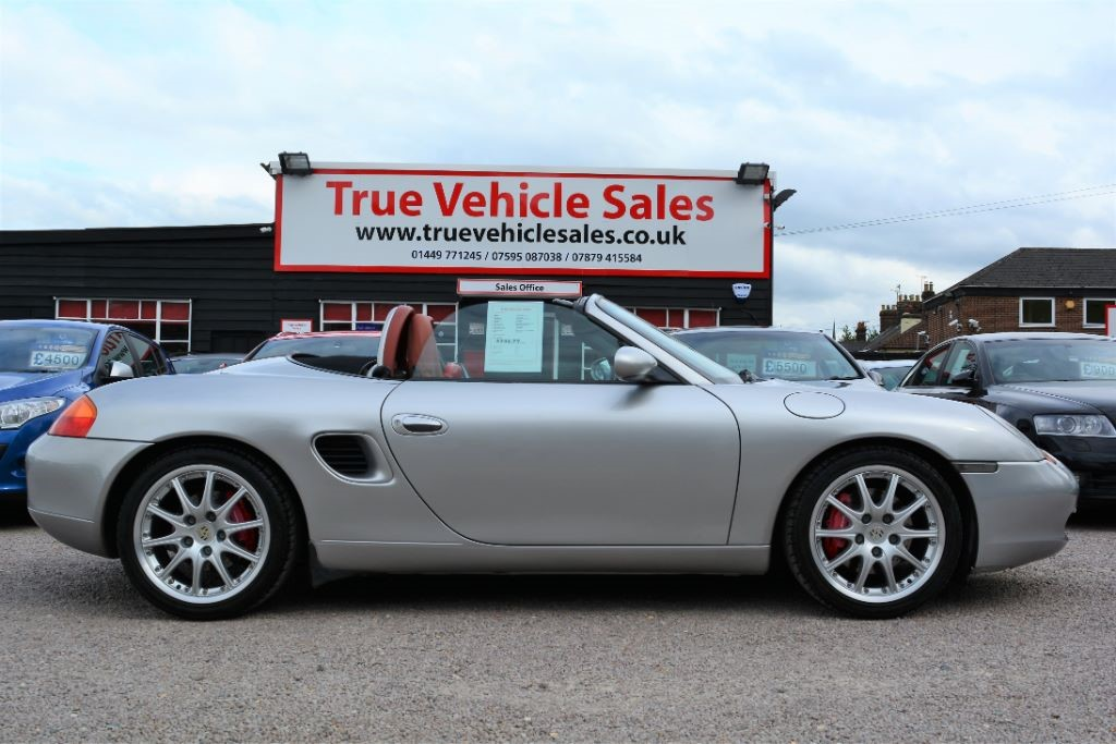 used Porsche Boxster S in Suffolk