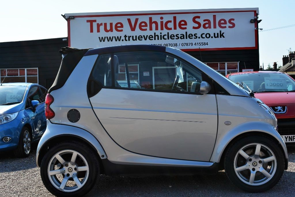 Used Silver Smart Car Fortwo For Sale Suffolk