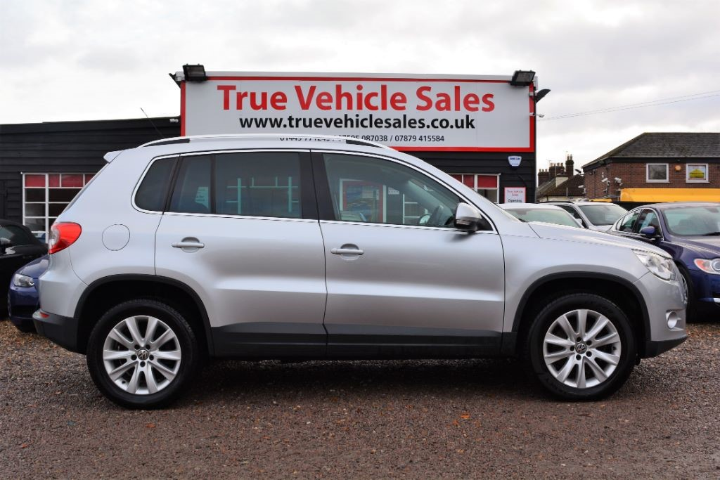 used VW Tiguan SE TDI 4MOTION in Suffolk