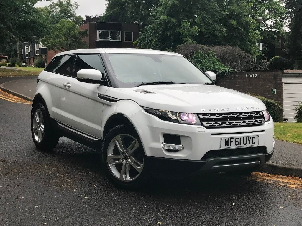 used Land Rover Range Rover Evoque SD4 Pure Coupe 4x4 3dr in in-birmingham