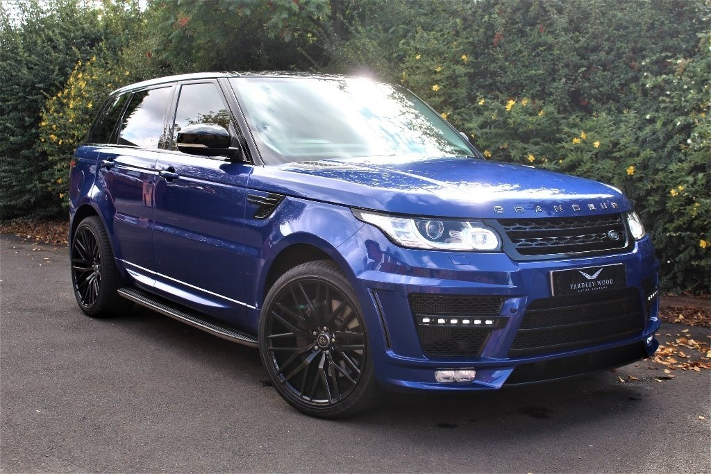 used Land Rover Range Rover Sport SD V6 HSE Station Wagon 4x4 5dr (start/stop) in in-birmingham