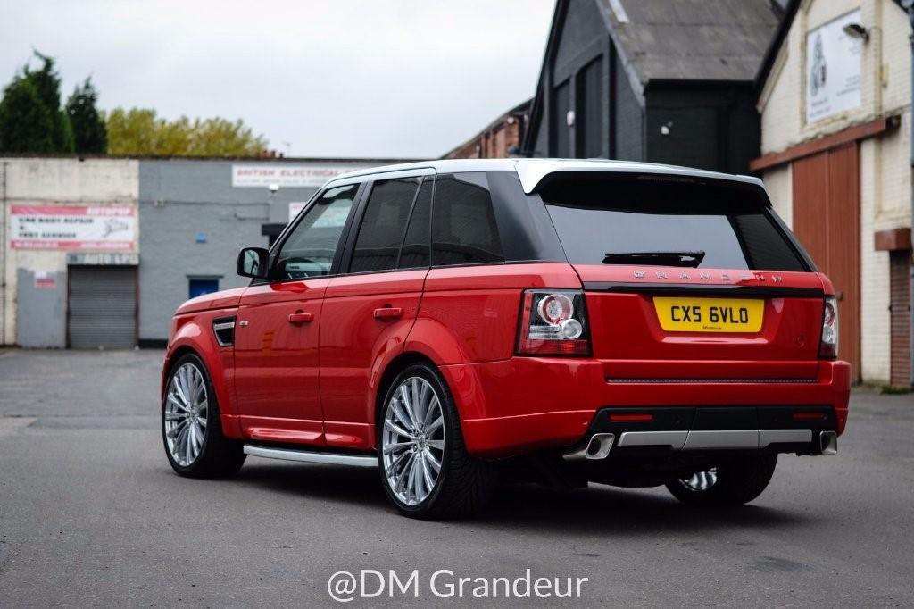 used Land Rover Range Rover Sport TD V6 SE 5dr in in-birmingham
