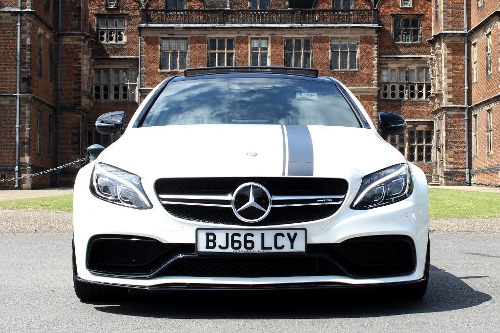 used Mercedes C63 AMG C Class S Edition 1 Coupe Speedshift MCT 2dr (start/stop) in in-birmingham