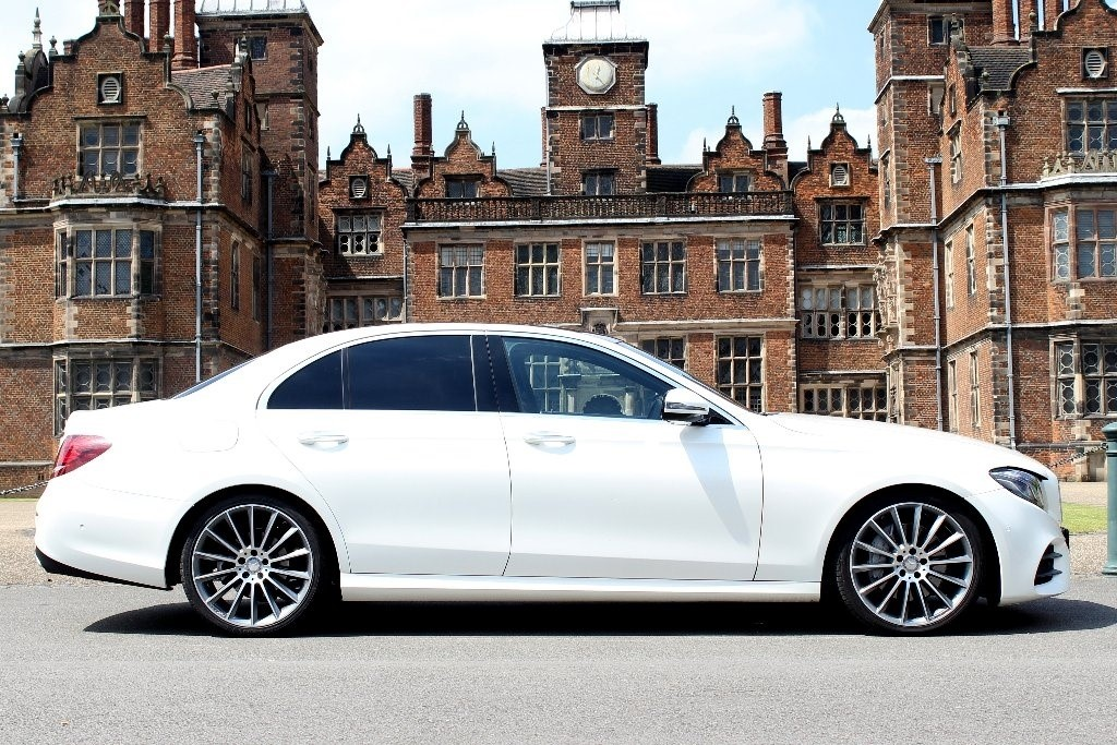 used Mercedes  E Class E220d AMG Line (Premium Plus) 9G-Tronic 4dr (start/stop) in in-birmingham
