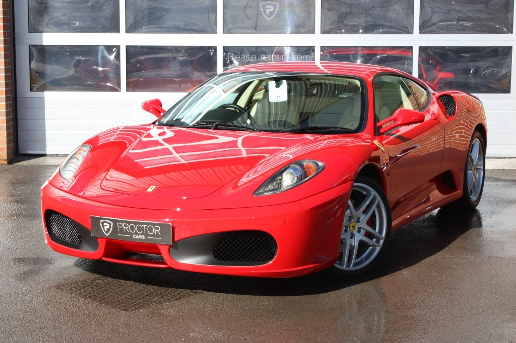 all Ferrari F430 COUPE 4.3 F1 2dr in wessington-derbyshire