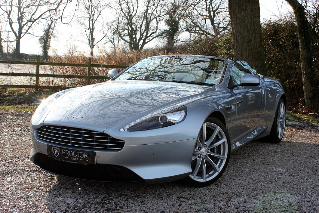 all Aston Martin DB9 5.9 GT Volante Touchtronic II 2dr in wessington-derbyshire