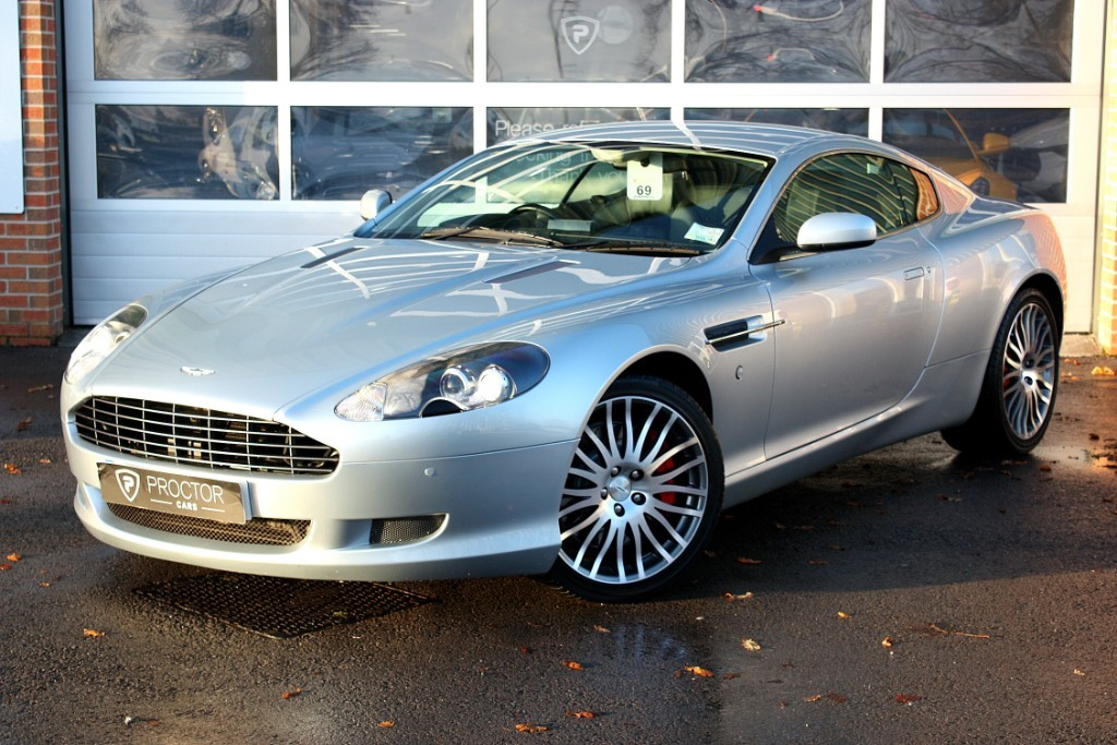 all Aston Martin DB9 6.0 Seq 2dr in wessington-derbyshire