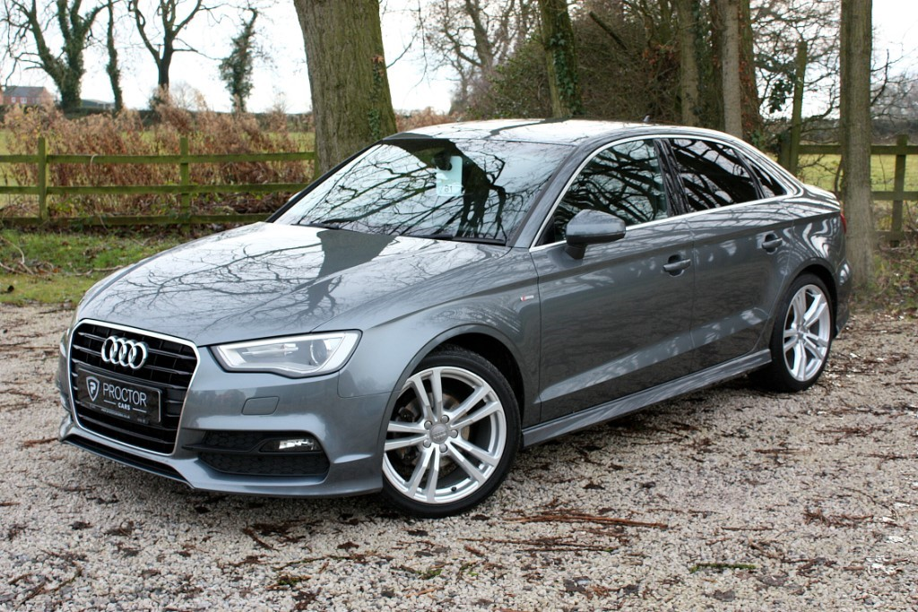 all Audi A3 2.0 TDI S line (s/s) 4dr in wessington-derbyshire
