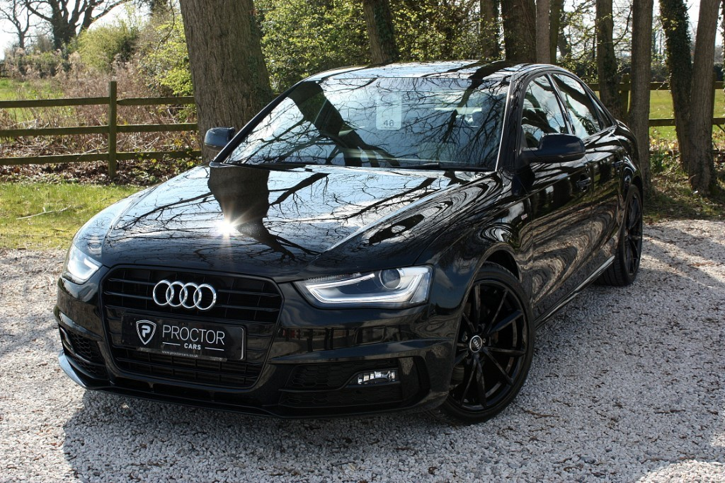 all Audi A4 2.0 TDI Black Edition Plus 4dr in wessington-derbyshire