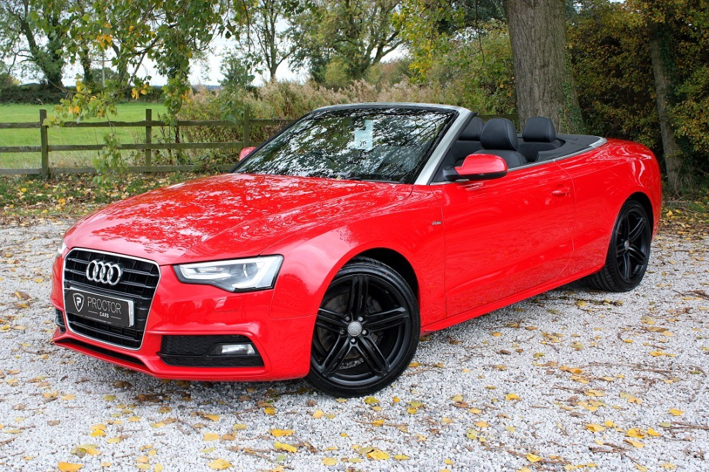 all Audi A5 Cabriolet 1.8 TFSI S line 2dr in wessington-derbyshire