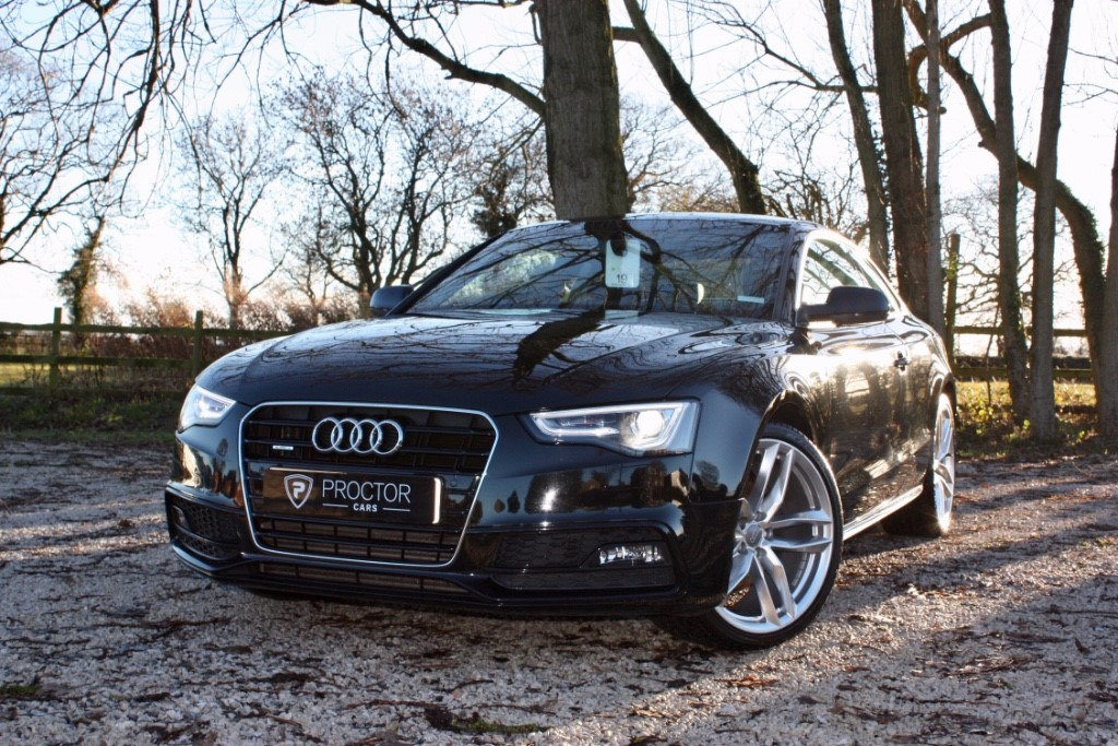 all Audi A5 3.0 TDI S line S Tronic Quattro 2dr in wessington-derbyshire