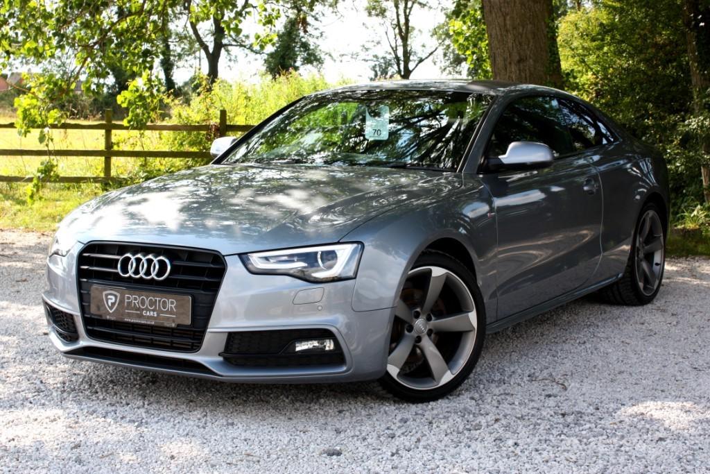 all Audi A5 2.0 TDI Black Edition 2dr in wessington-derbyshire