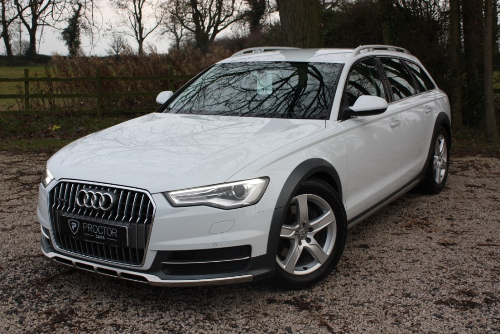 all Audi A6 allroad 3.0 TDI Allroad S Tronic Quattro (s/s) 5dr in wessington-derbyshire