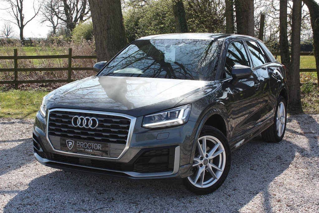 all Audi Q2 1.6 TDI S line SUV S Tronic 5dr in wessington-derbyshire