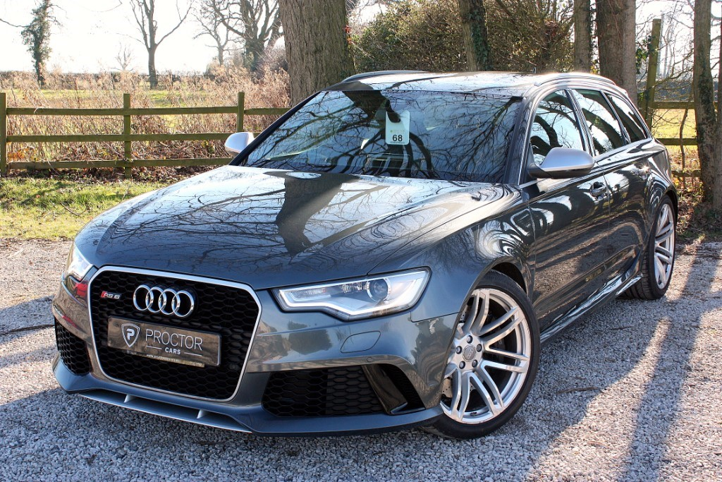 all Audi RS6 Avant 4.0 TFSI Tiptronic quattro 5dr in wessington-derbyshire
