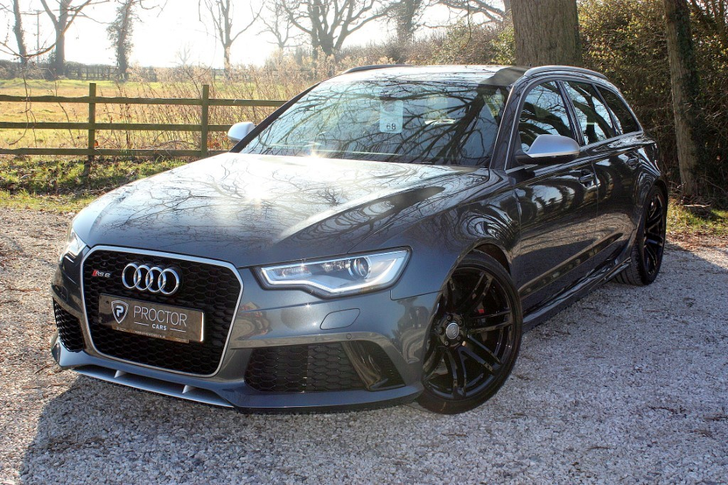 all Audi RS6 Avant 4.0 TFSI Tiptronic quattro 5dr in wessington-derbyshire