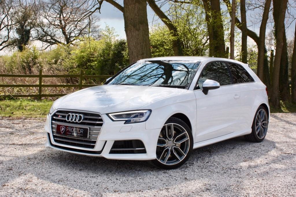 all Audi S3 2.0 TFSI S Tronic quattro (s/s) 3dr (Nav) in wessington-derbyshire