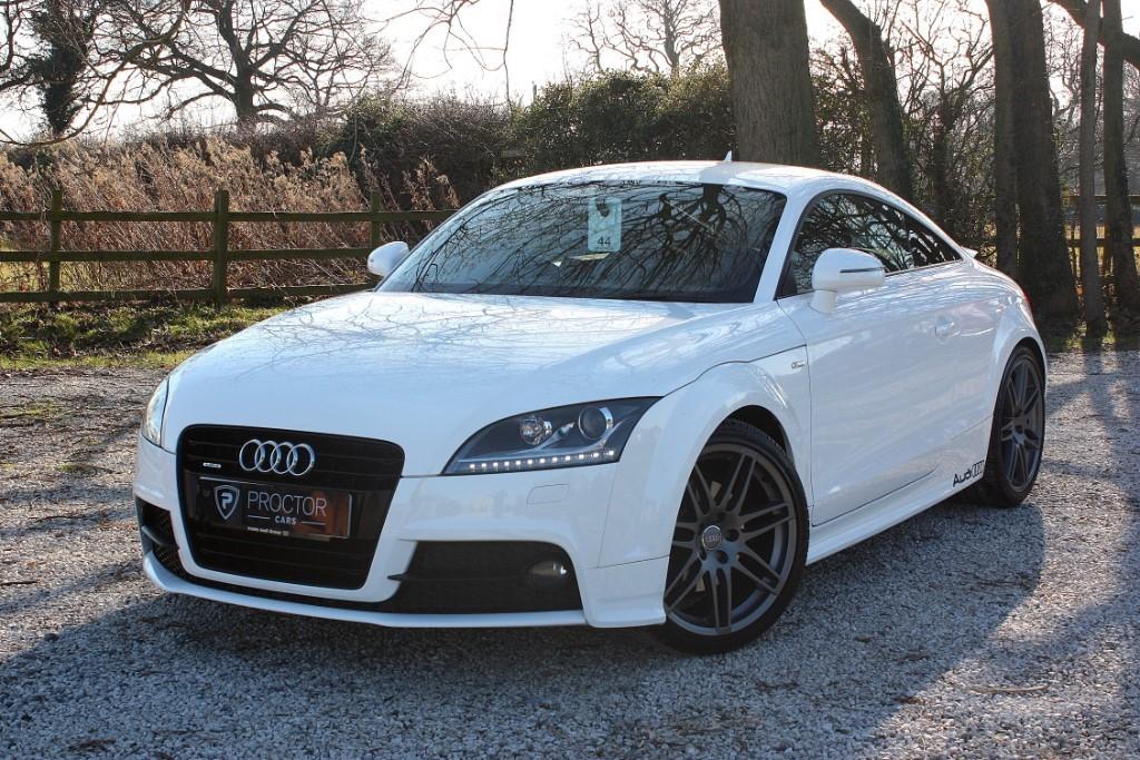 all Audi TT 2.0 TDI Black Edition quattro 3dr in wessington-derbyshire