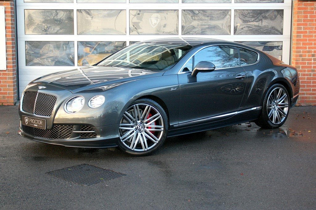 all Bentley Continental 6.0 Speed W12 GT 2dr in wessington-derbyshire