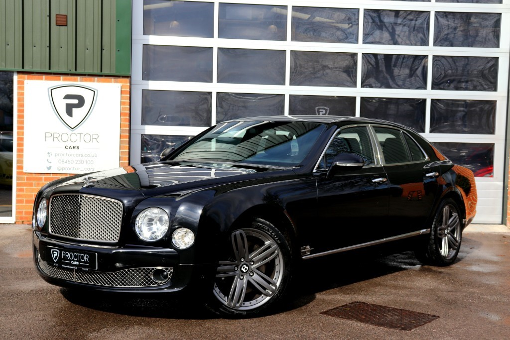 all Bentley Mulsanne 6.75 V8 4dr in wessington-derbyshire