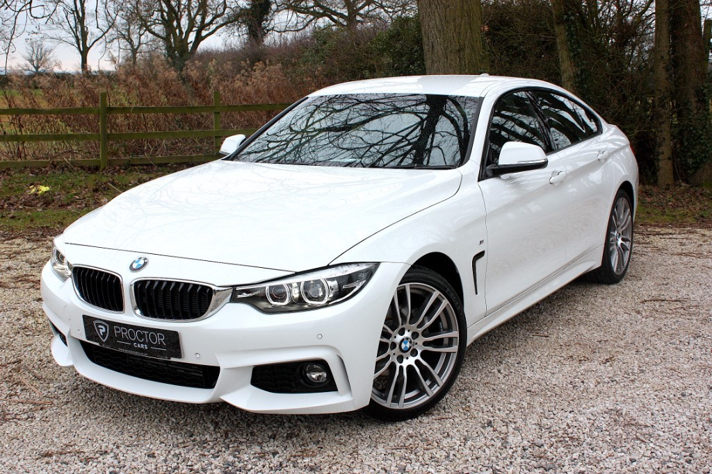 all BMW 420d Gran Coupe 2.0 M Sport Gran Coupe (s/s) 5dr in wessington-derbyshire