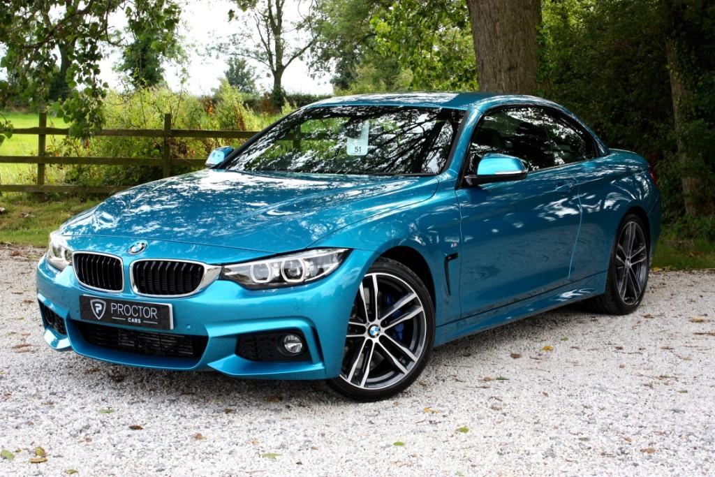 BMW 4 Series 430d M Sport Auto (s/s) 2dr for Sale