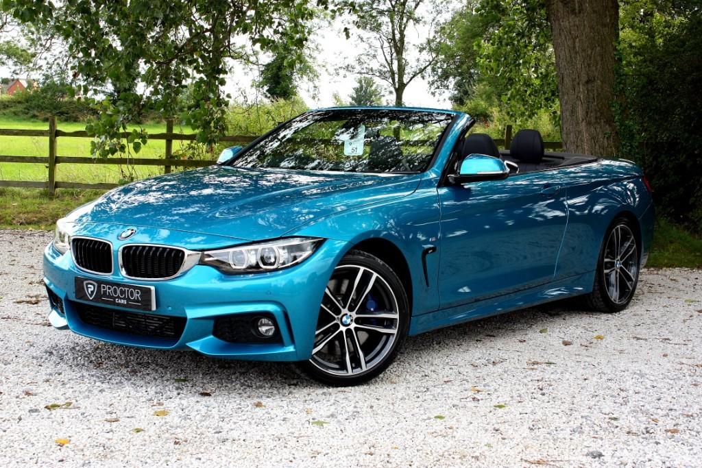 all BMW 430d M Sport Auto (s/s) 2dr in wessington-derbyshire