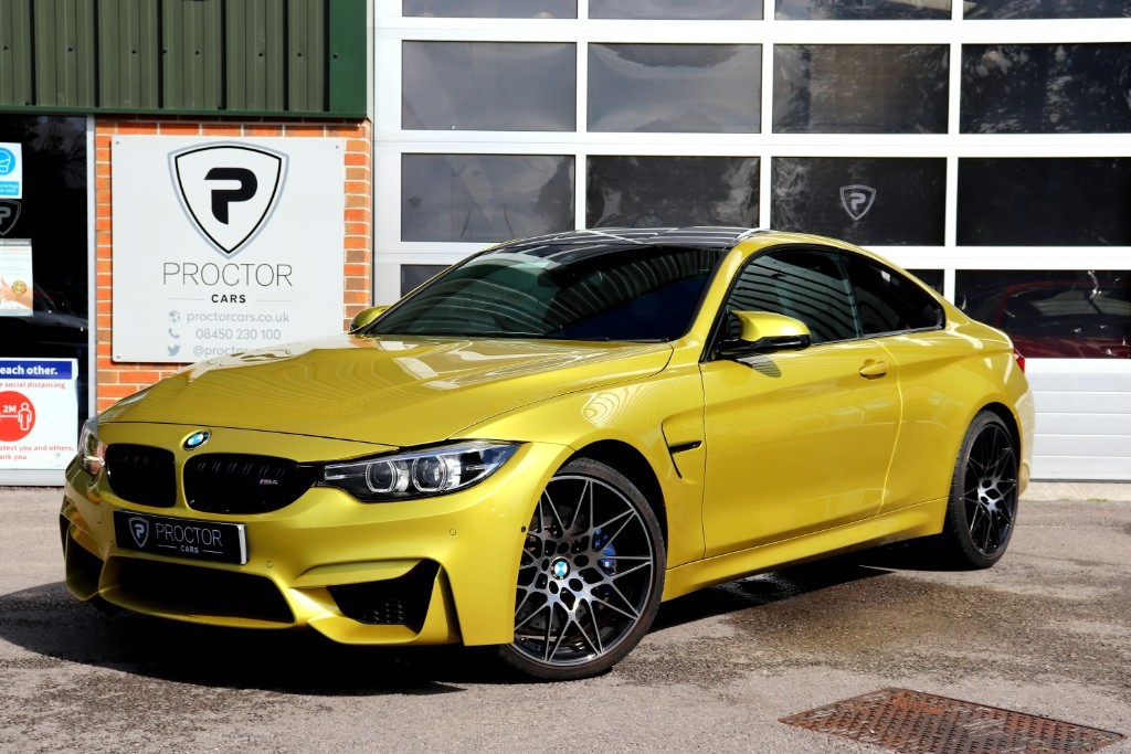all BMW M4 3.0 BiTurbo (Competition Pack) DCT (s/s) 2dr in wessington-derbyshire