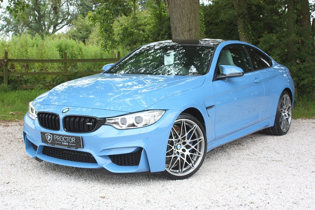 all BMW M4 3.0 BiTurbo Competition Pack DCT (s/s) 2dr in wessington-derbyshire