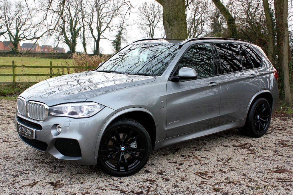 all BMW X5 3.0 40d M Sport Steptronic xDrive (s/s) 5dr in wessington-derbyshire
