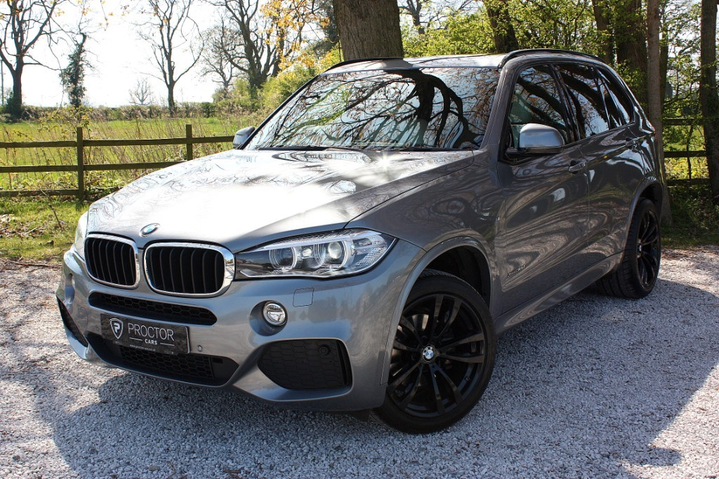 all BMW X5 3.0 30d M Sport Steptronic xDrive (s/s) 5dr in wessington-derbyshire