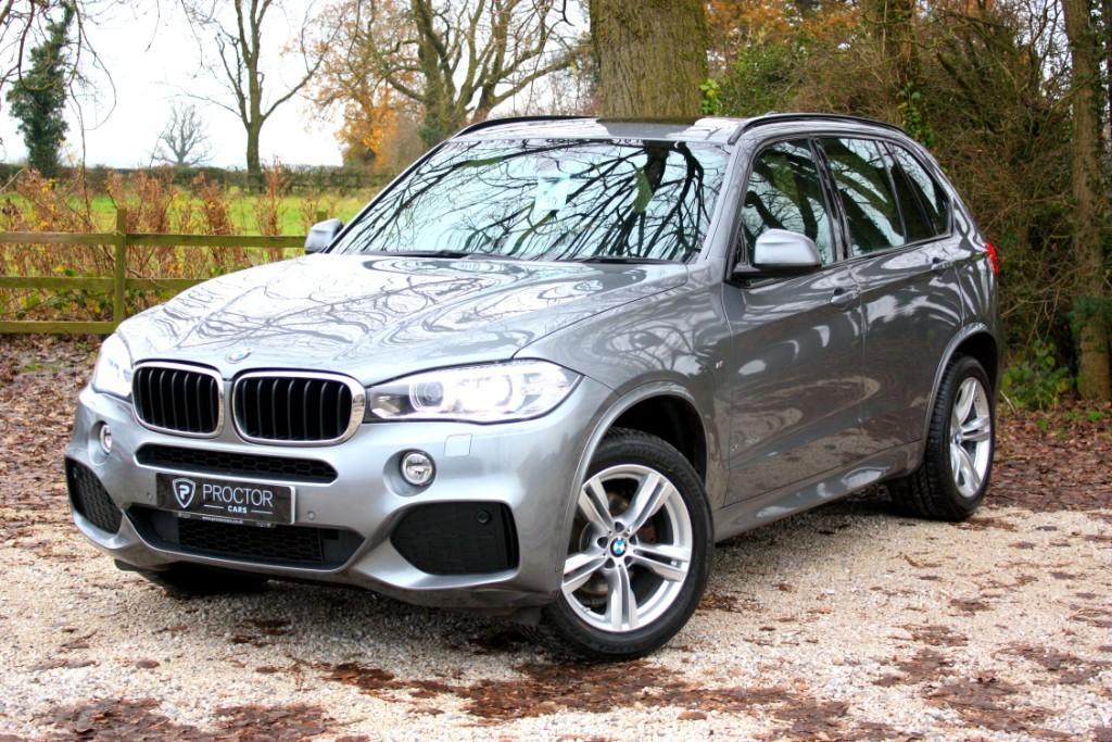 all BMW X5 3.0 30d M Sport Auto xDrive (s/s) 5dr in wessington-derbyshire